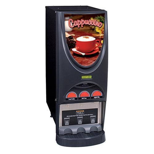 Bunn iMIX-3 Black Three Flavor Cappuccino Dispenser