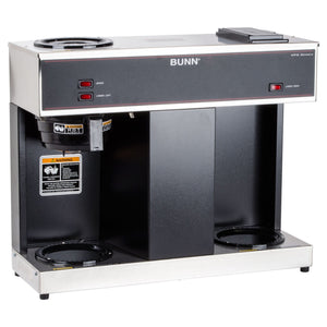 Bunn VPS Pourover 12-Cup Coffee Brewer - 3 Warmers | 04275.0031 - Coffee Wholesale USA