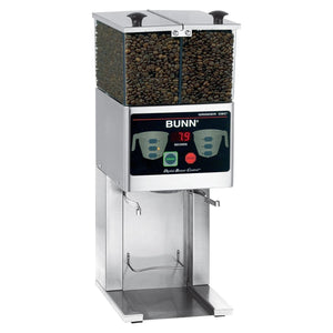 Bunn FPG-2 DBC French Press Coffee Grinder - Stainless - Coffee Wholesale USA