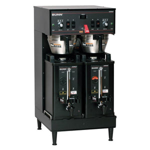 Bunn Dual Soft Heat Satellite Coffee Brewer - Black - Coffee Wholesale USA