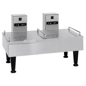 Bunn Dual Soft Heat Satellite Serving Stand, Stainless - Coffee Wholesale USA