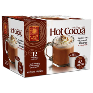 Copper Moon InstaKup (for K-Cup® and capsule brewers) - Milk Chocolate Hot Cocoa