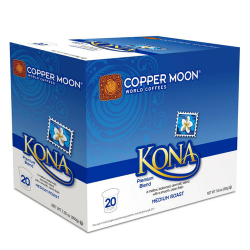Copper Moon Kona Blend Single Cups