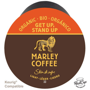 Marley Coffee RealCups - Get Up Stand Up