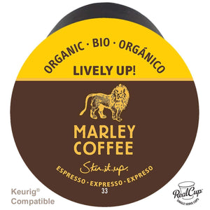 Marley Coffee RealCups- Lively Up! Organic