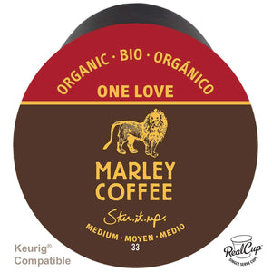 Marley Coffee RealCups - One Love Organic