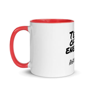 Tears of My Enemies Mug with Color Inside