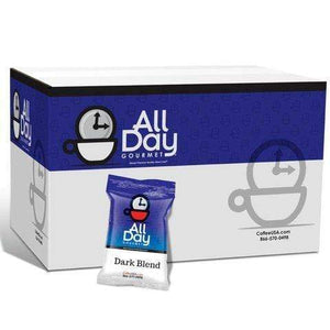 All Day Gourmet Dark Roast Portion Packs | 36 Ct. 2.25 oz
