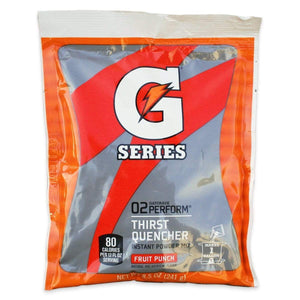 Gatorade Instant Powder Mix - Fruit Punch - 8.5oz Package (1 Gallon)