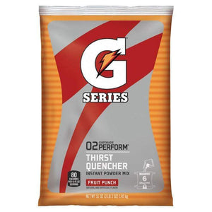Gatorade Instant Powder Mix - Fruit Punch - 51oz Package (6 Gallon)