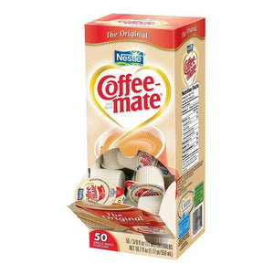 Coffee-mate Liquid Creamer Tubs - Original (Unflavored) - 50ct Box