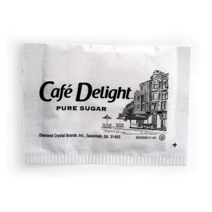 Cafe Delight Sugar Packets - 0.1oz Packets - Bulk Case of 2,000