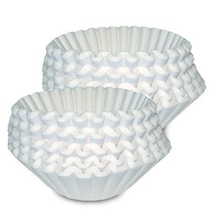 Bunn Coffee Filters - 1.5 Gal for Gourmet Smart Funnel (13.75 x 5.25) - 500ct [20138.1000] - Coffee Wholesale USA