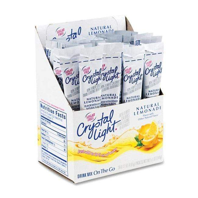 Crystal Light Drink Mix - Lemonade - On The Go Sticks - 120 Count
