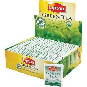 Lipton Tea Bags - Green Tea - 100ct Box