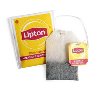 Lipton Tea Bags - 100% Natural, Regular - 100ct Box