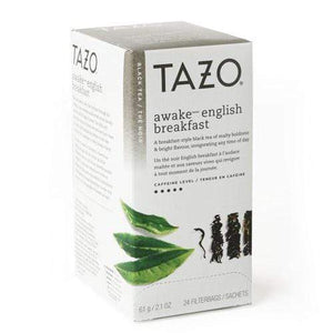 Tazo Tea Bags - Awake English Breakfast (Black Tea) - 24 Tea Bags