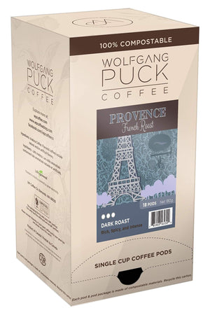 Wolfgang Puck Coffee - Pods - Provence French Roast