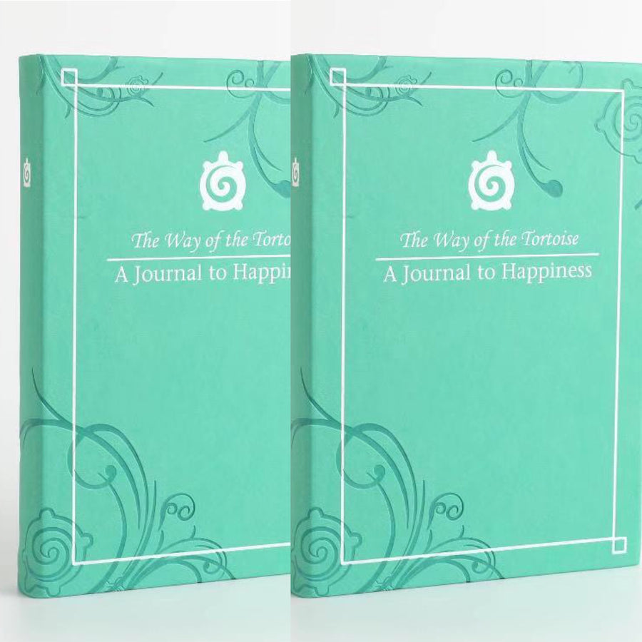 The Double Happiness Deal - 2 Journals for just £40! - The Way of the Tortoise happiness journal