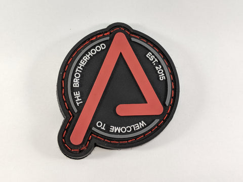 Agency Arms Agency Patch Red on Black - DEVILSIX