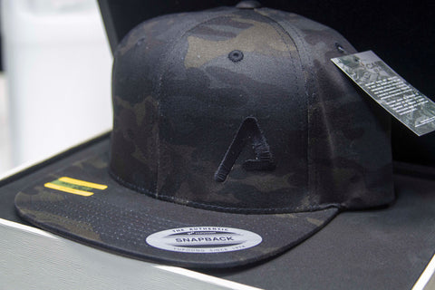 Agency Arms Black Multicam Snap Back