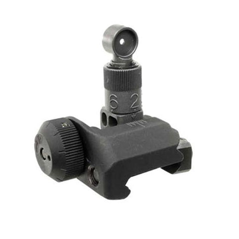 FOLDING REAR SIGHT 600 METER - DEVILSIX