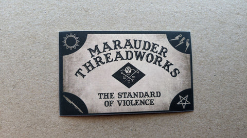Marauder Thread Works - The Standard of Violence Sticker - DEVILSIX