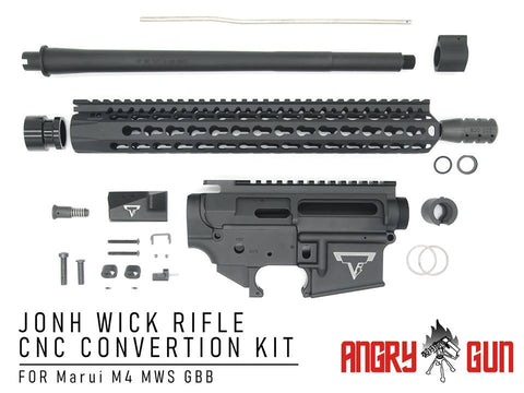 ★取り寄せ Angry Gun JOHN WICK RIFLE CNC CONVERSION KIT マルイ M4MWS用 - DEVILSIX