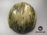 【お取寄せ】EvolutionGear 4 hole High Cut helmet deluxe Color:Multicam - DEVILSIX