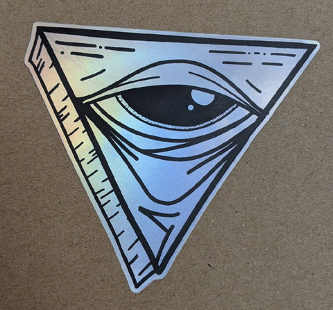 WHITEPHOSPHOR - As Above So Below STICKER - DEVILSIX