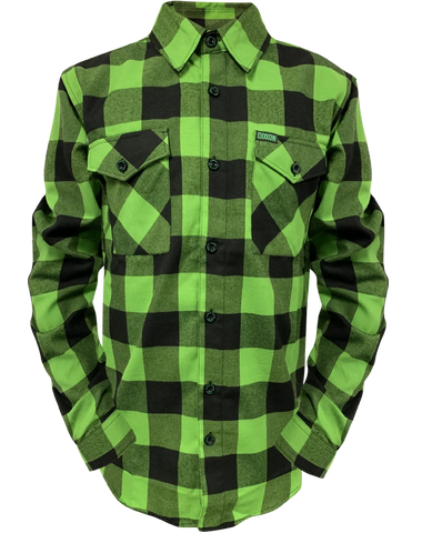 Women's Gang Green Flannel - DEVILSIX