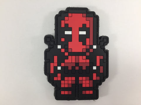 Deadpool 8bit PVC Patch - DEVILSIX