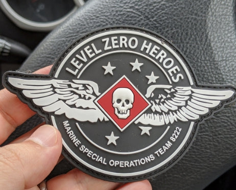 LEVEL ZERO HEROES WINGS PVC PATCH - DEVILSIX