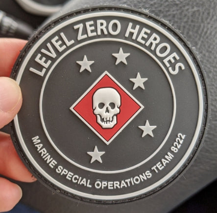 LEVEL ZERO HEROES PVC PATCH - DEVILSIX
