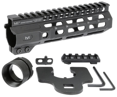 MI Combat Rail One Piece Free Float Handguard - DEVILSIX