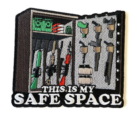 Patriot Patch Company LLC. - This Is My Safe Space 1.0 Patch - DEVILSIX