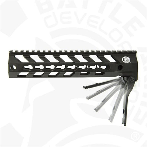"BATTLEARMS™ 557 Switch® Rail 9""-B.A.D Edition - DEVILSIX"