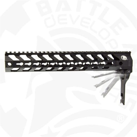 "BATTLEARMS™ 558 Switch® Rail 12""-B.A.D Edition - DEVILSIX"