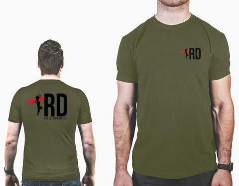 NEW RD Green Logo Shirt