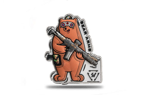 STRIKE INDUSTRIES - SI Bear Arms Patch - DEVILSIX