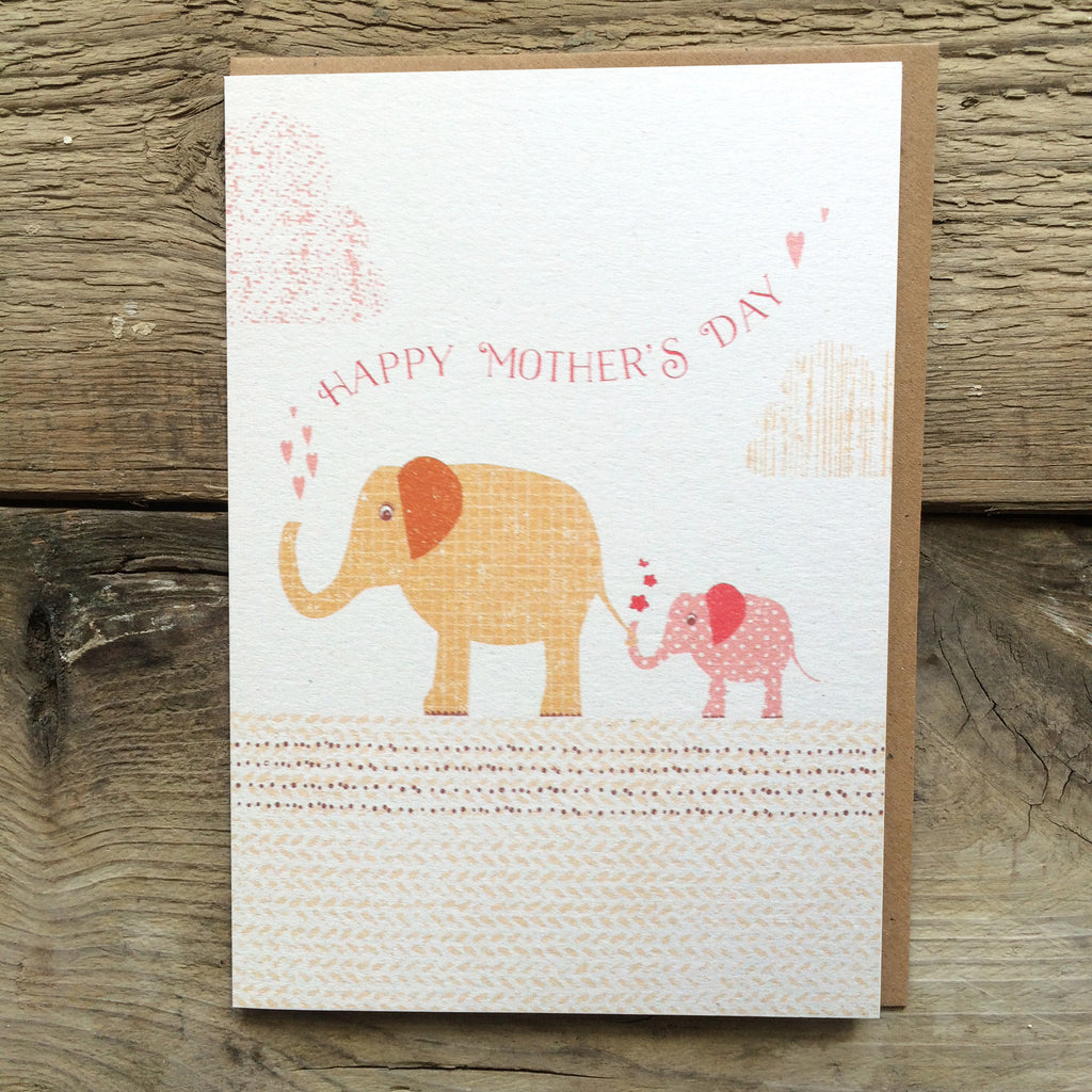 DD31 Happy Mothers Day Elephants