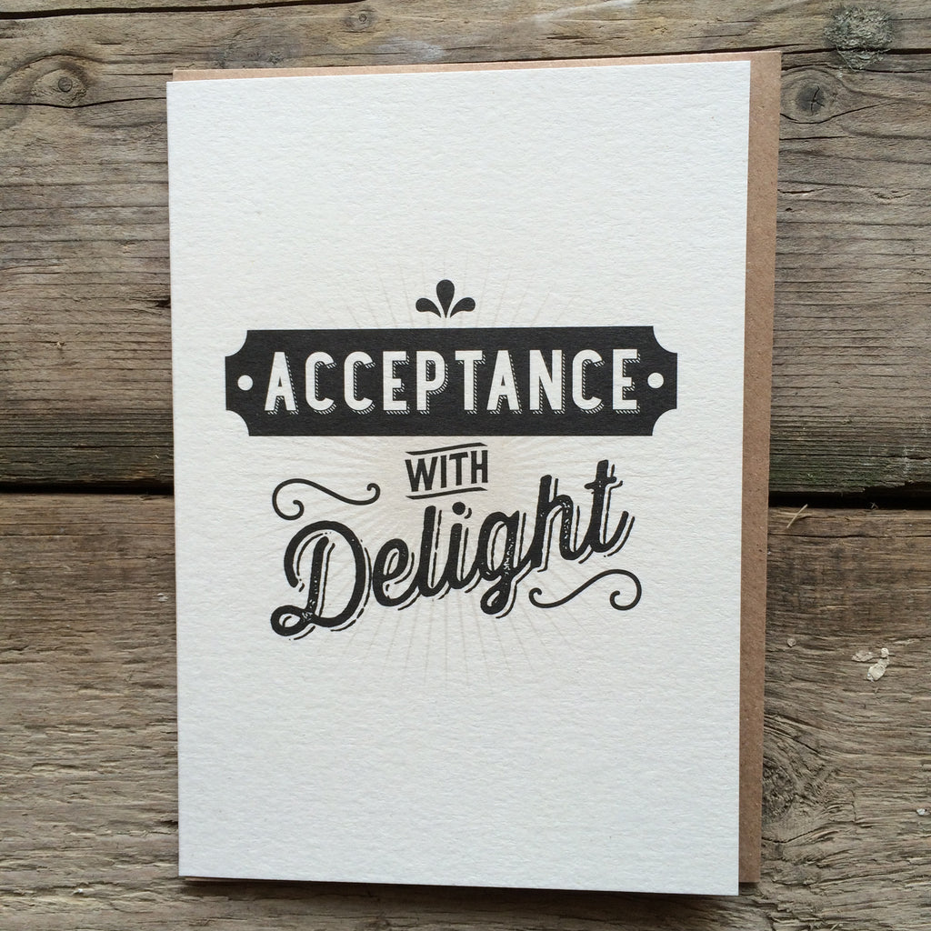 JJ16 Acceptance with Delight