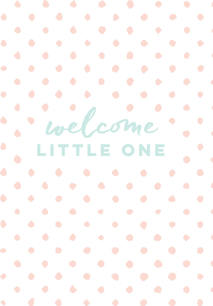 RE04 Card Welcome Little One