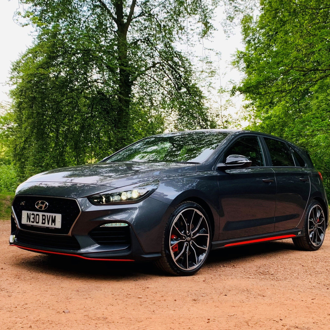 Hyundai i30N  Red Sill Inserts Approved By Hyundai UK (1 set / 2 items)