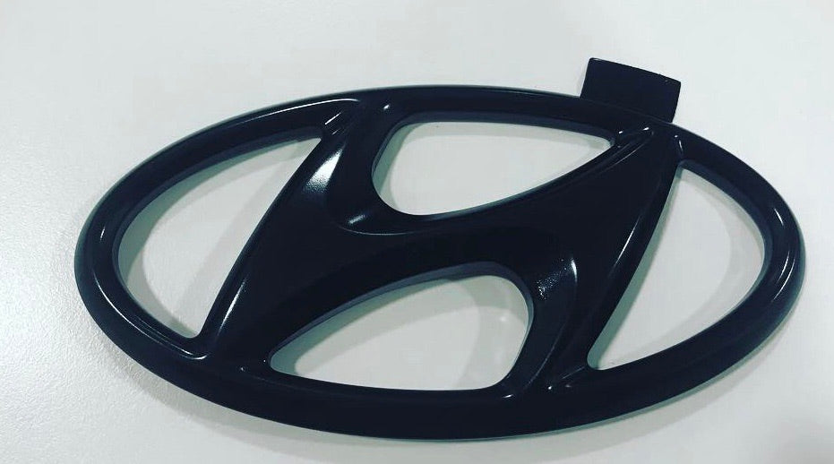 Black Rear Hyundai Logo for I30N - NSport Ltd Store