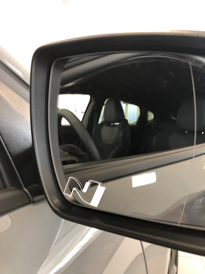 Wing Mirror N Logo's (Pair) - NSport Ltd Store