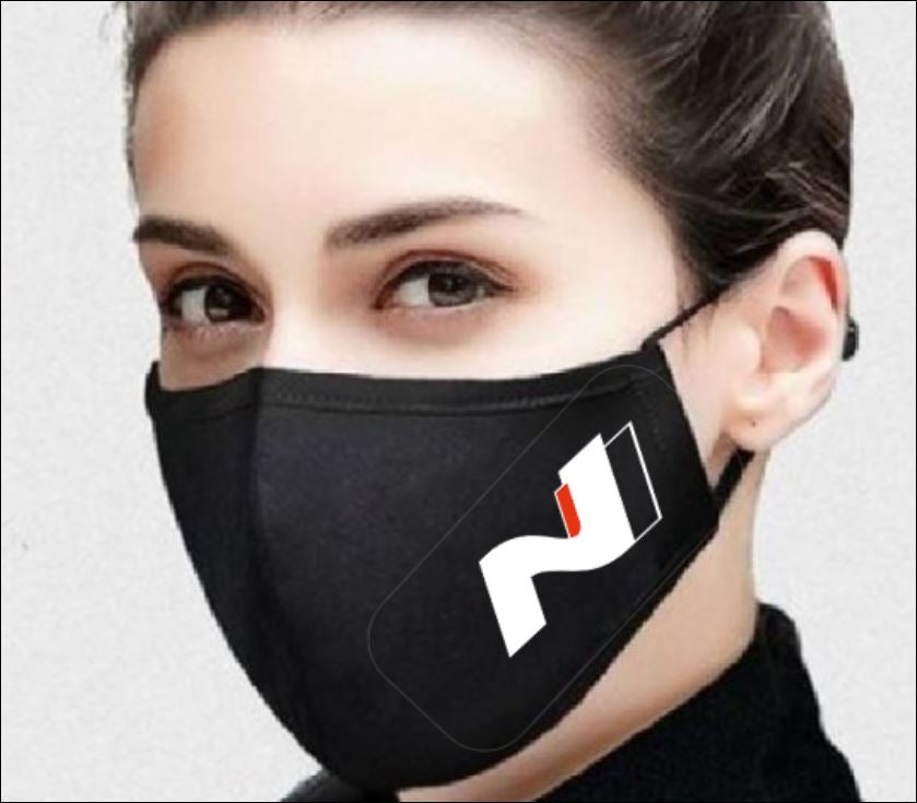 Face Covering with N Logo