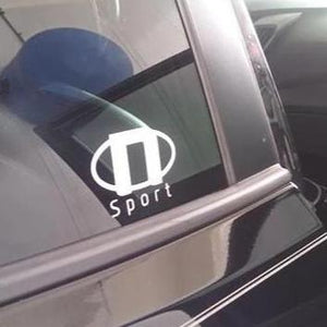 N Sport Team Logo Sticker (x2)