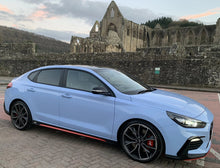 Load image into Gallery viewer, Hyundai i30N  Red Sill Inserts Approved By Hyundai UK (1 set / 2 items) - NSport Ltd Store