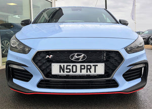 Black Front LED Light Surround: Hyundai UK Approved - NSport Ltd Store